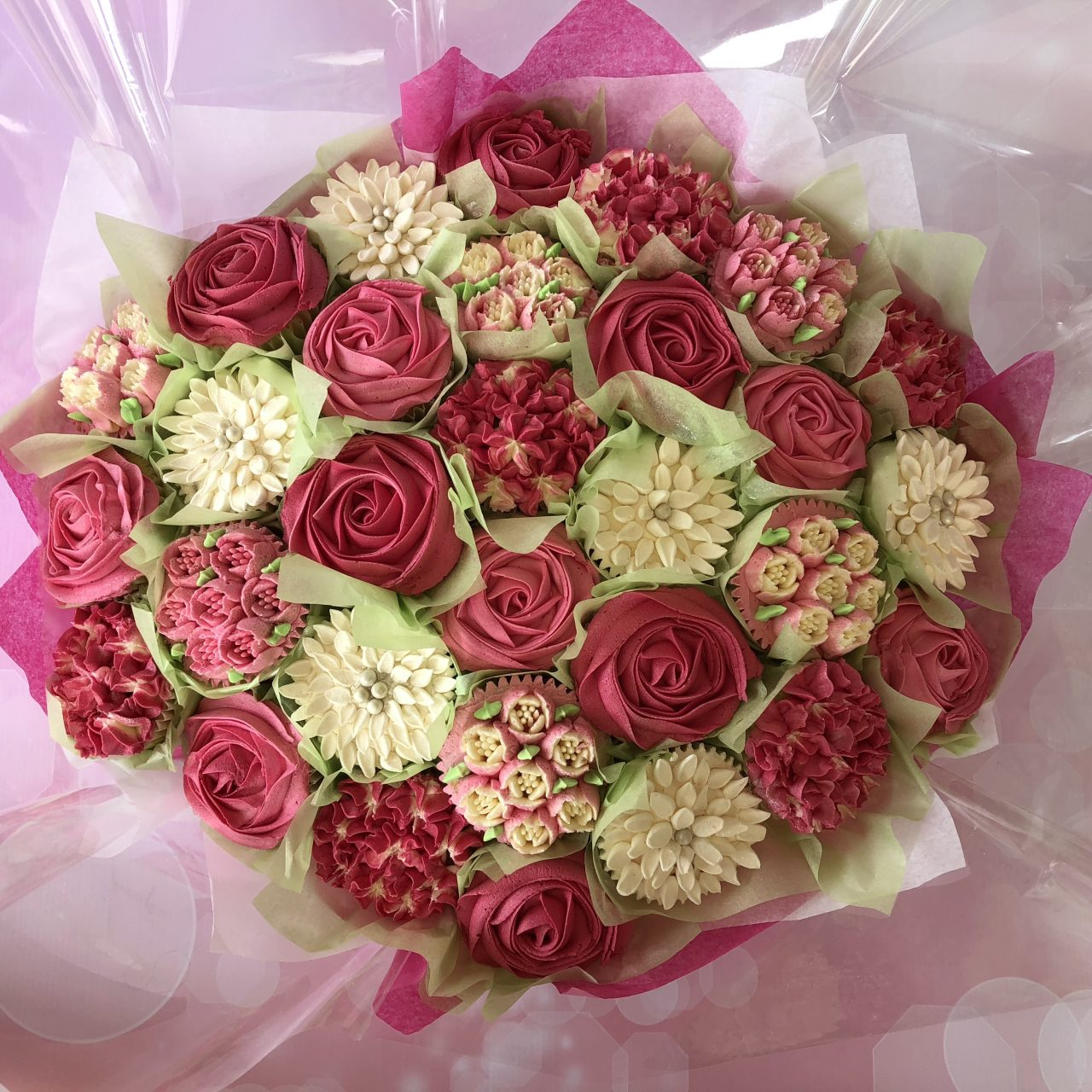 Cupcake bouquets hayleighs cakery celebrations weddings cupcake bouquets izmirmasajfo